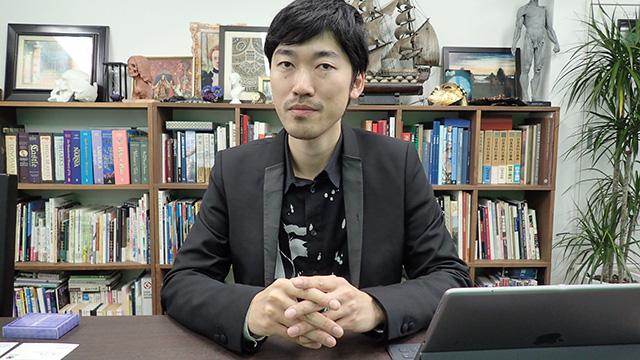 ティフォン株式会社代表、深澤さん。