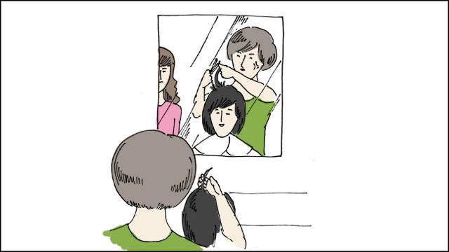 立ち位置を間違えると鏡に映りこむからイラっとしちゃうんだろうか。勝手な想像ですが。