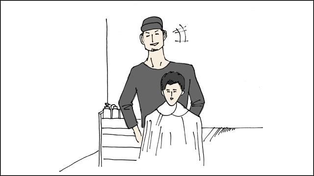 企画にノリノリな美容師さんだった。ありがとうございます。