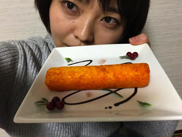 せっかくなので「憧れの一皿を食べに来ました」みたいな自分撮り 写真をとってみる。これ、すごい味がするのではないか
