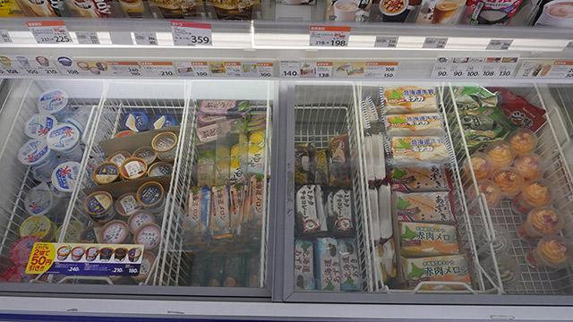 全部セコマオリジナルのアイス