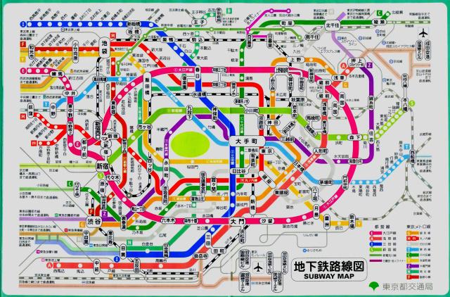 やっぱりどうしても大江戸線に目が行くよね