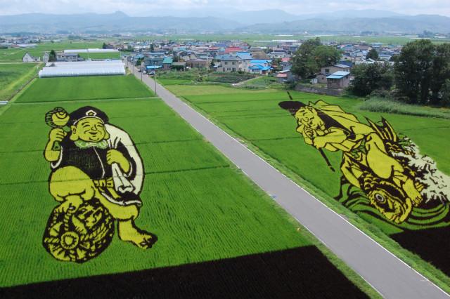 2008年「恵比寿様と大黒様」