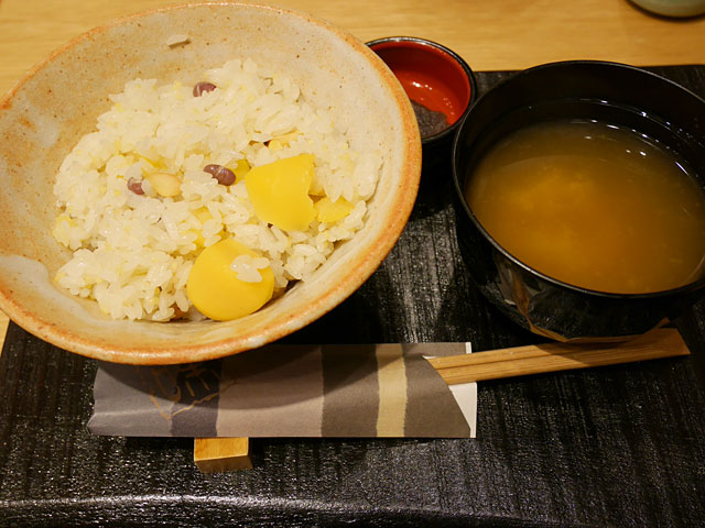 奈良茶飯風おこわ(580円)
