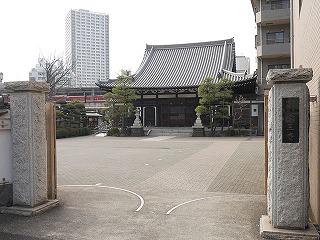 京急川崎駅から徒歩3分ほどで「曹洞宗 宗三寺」に到着した。