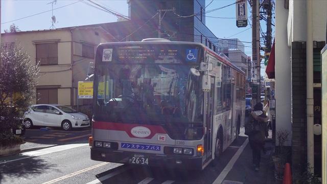 10時20分、ほぼ定刻通りにバスが到着。