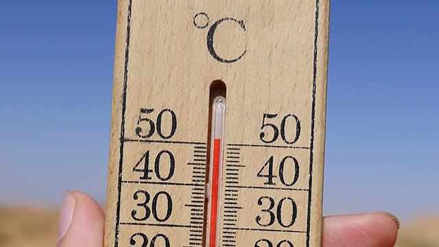 まずは気温50度の、