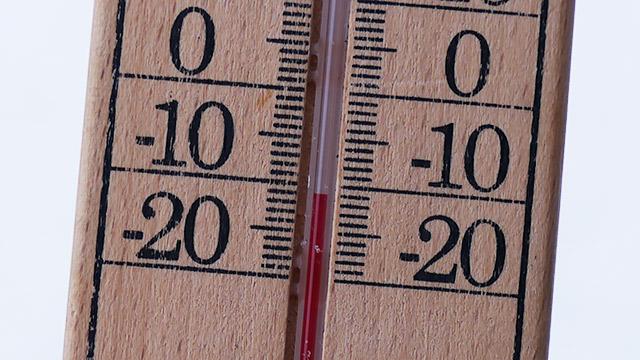 気温はマイナス10度!