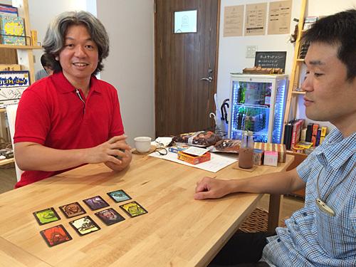 カードの種類はゴキブリ、ネズミ、クモ、カメムシなど。