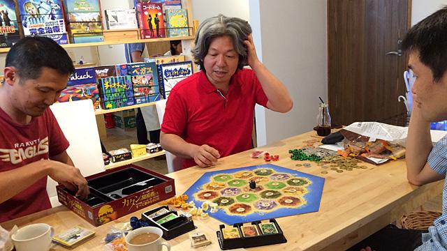 シェフがオススメするコース料理形式でボードゲームの世界を味わってみました。