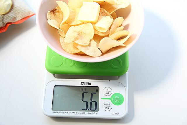 5.6gのバター、42kcalなんて誤差です。