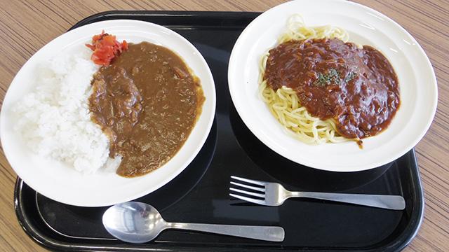 カレーライス VS ミートソーススパゲッティ