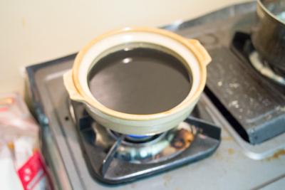 汁が黒すぎてピントが合いませんでした