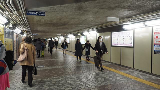 ターミナル駅は全部は周りきれないので「可能な範囲で見る」ルールとした。