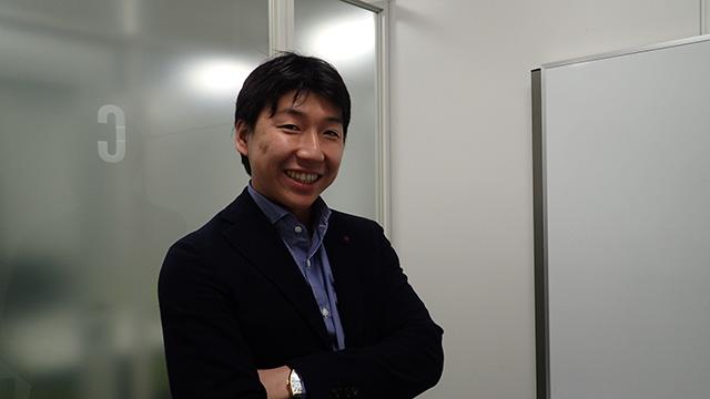 全研本社株式会社の中村さん。