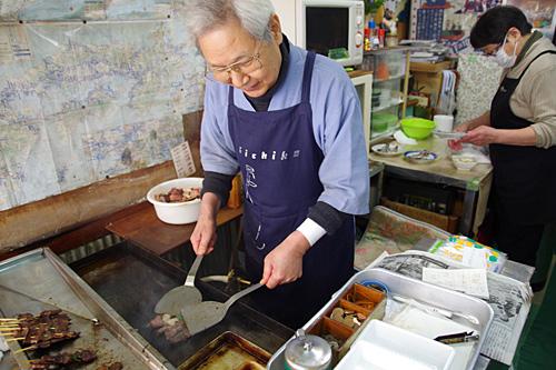 50年後のチエちゃんは神戸にいたのか。ご主人はチエちゃんのおじいさんにちょっと似ているかな。