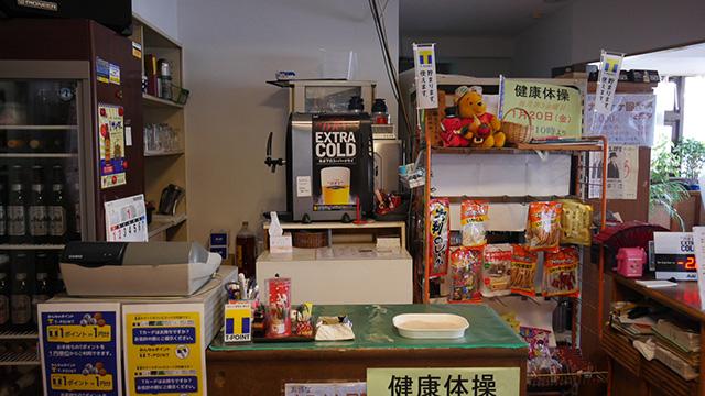 蒲田温泉宴会場には食堂が併設されている。ここのすごいのは