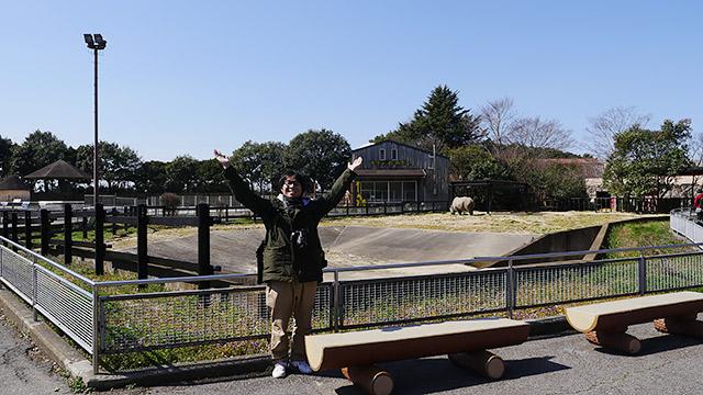 ということで、動物園に来ました!