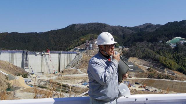 福岡県の職員の方がわざわざ休日出勤して説明してくださった