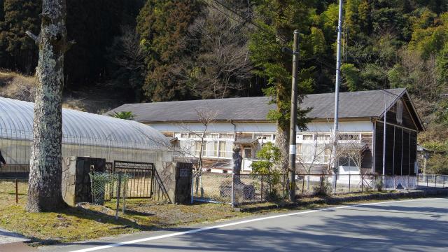 昭和初期に建てられた木造の校舎