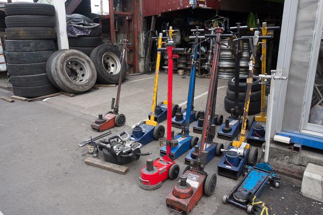 ざっくばらんに置かれた工具たちとか。かわいいよね。