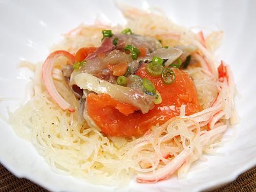 刺身のツマと海鮮サラダにしても良し。