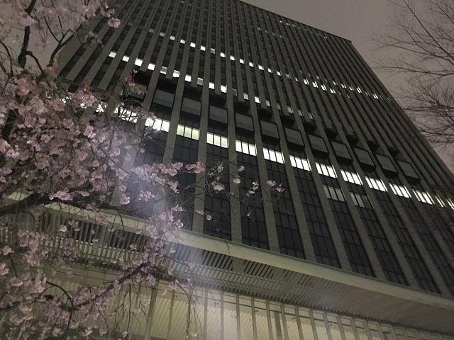 千代田区本庁舎9階にある図書館。平日は夜10時まで開いていて超便利