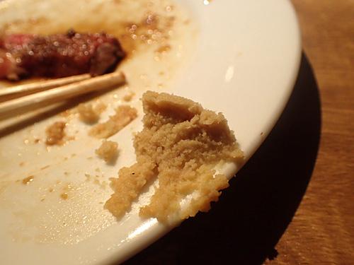 うまい肉を食べた後、このホースラディッシュをつまみにハイボールの炭酸水割りを飲みました。