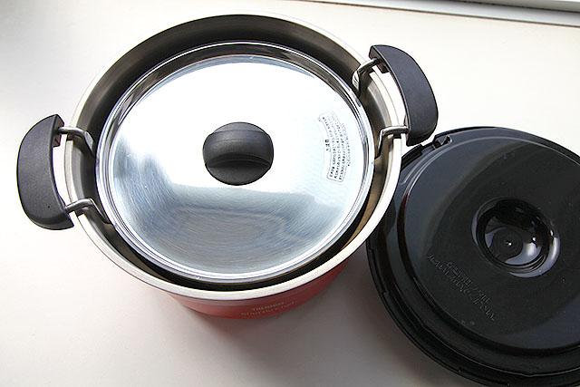 火にかけるのは内鍋だけ。