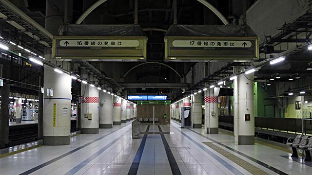 上野発の夜行列車、いまひとつもないって知ってた?