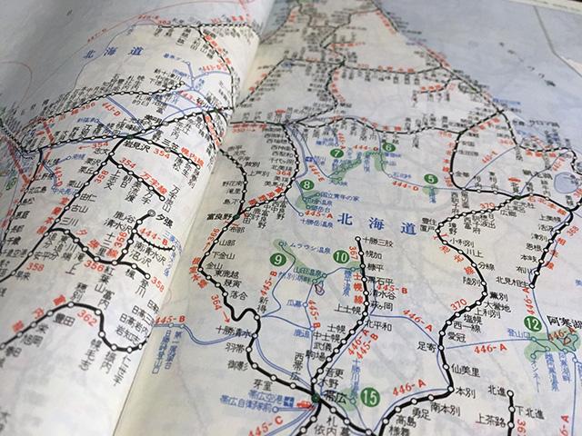 いま北海道の路線はこの3分の1くらいしかないんじゃないか