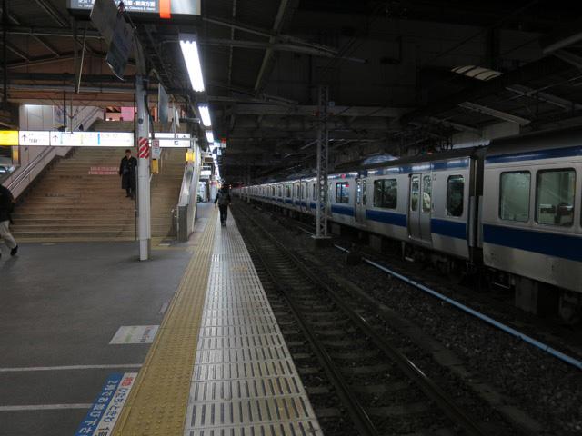 ここから金沢行き寝台特急北陸が出ていた