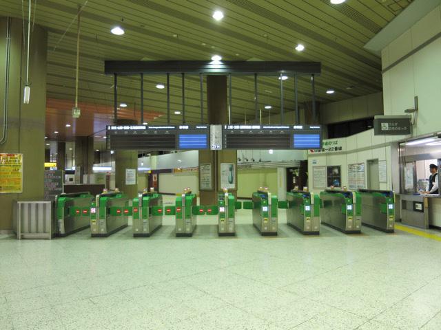 新幹線は終わっていた