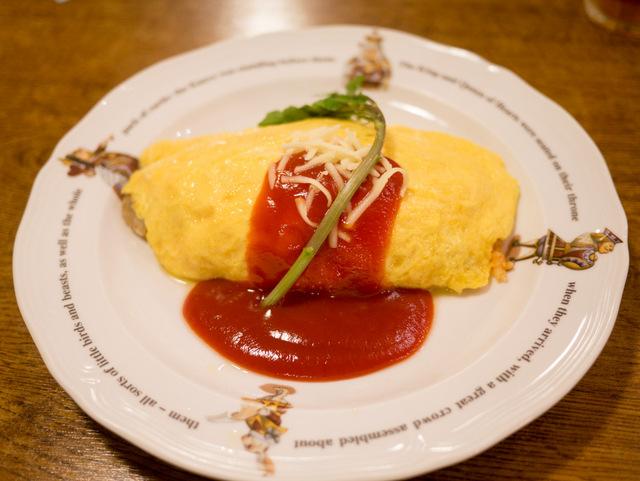 チーズオムライス