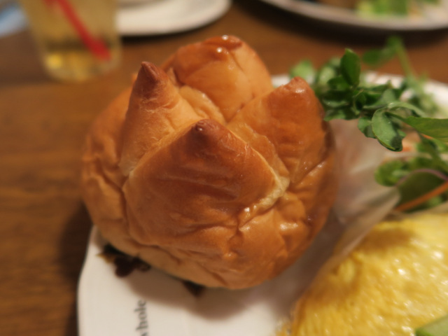 すごく変わった形のパン