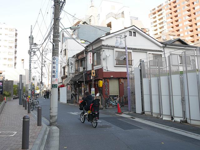 駅前開発が進んで武蔵小山の街の景色も変わりつつある