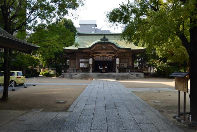渡辺さんのルーツの神社