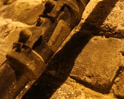 トンネルの電気の管はパナソニック 製だった。