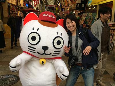 みにゃみんにツッコミを入れてから東京に帰りました
