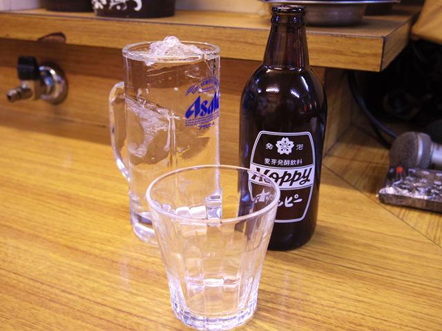 別にコップが出てきてそこで割りながら飲む