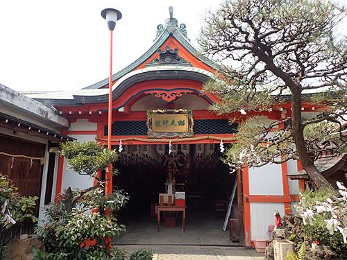 松尾稲荷神社に到着。