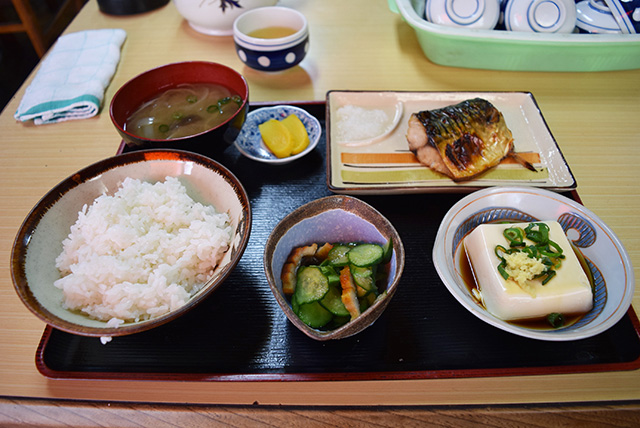 焼き魚定食が大変美味しかった。