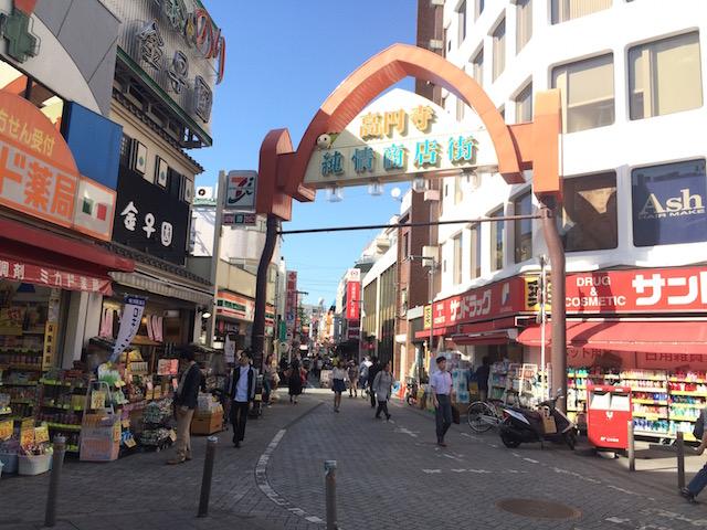 高円寺には14もの商店街がある