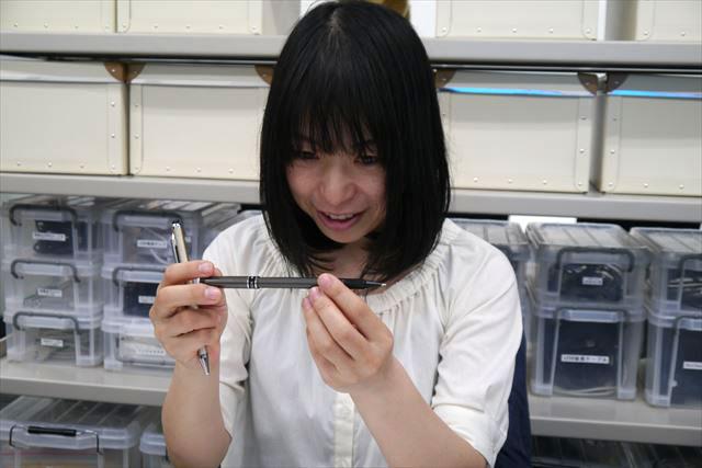 (自分のイラストが上手くなったのではなく)このペンがすごいのでは…!?と言う古賀さん。