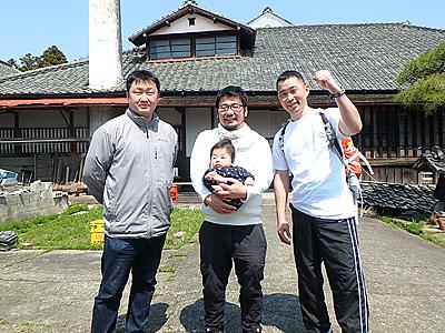 若駒酒造の柏瀬さん、酒の秋山の秋山さん。ご協力ありがとうございました!