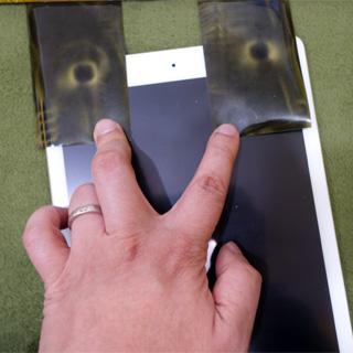 iPadのスピーカーは