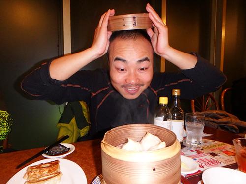 めっちゃおどけてくれるいい感じのベンジャミンくん。小籠包は中に全然スープが入ってない!と言っていた。