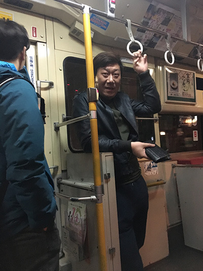 東京で初めて路線バスに乗ってすごく嬉しそうだったリアンくん。