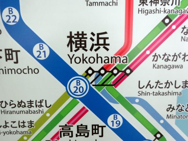 横浜駅から黒い触手が伸びてる