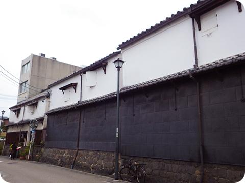【参考】名古屋の土蔵 ※この記事の参考写真は大町くんの提供です。